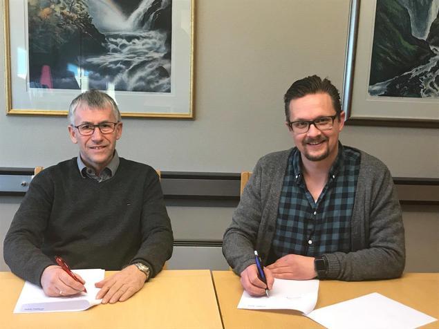 Signering av avtale