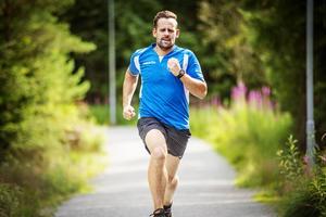 mann som jogger