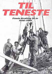 """Framsida av 50 års jubileumsboka: """"Til teneste"""""""