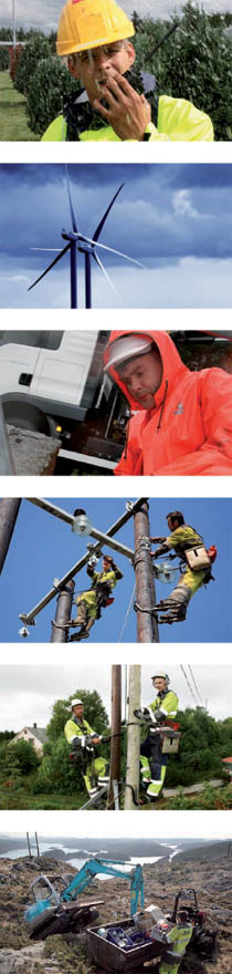 Bilde av tilsette i arbeidssituasjonar