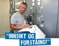 """Bilde av tilsett Rune Nesse som uttalar """"Innsikt og forståing"""""""