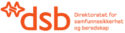 logo DSB (direktoratet for sivilt beredskap)